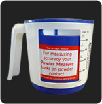 Ezi-action plastic drum pumps USA powder measure